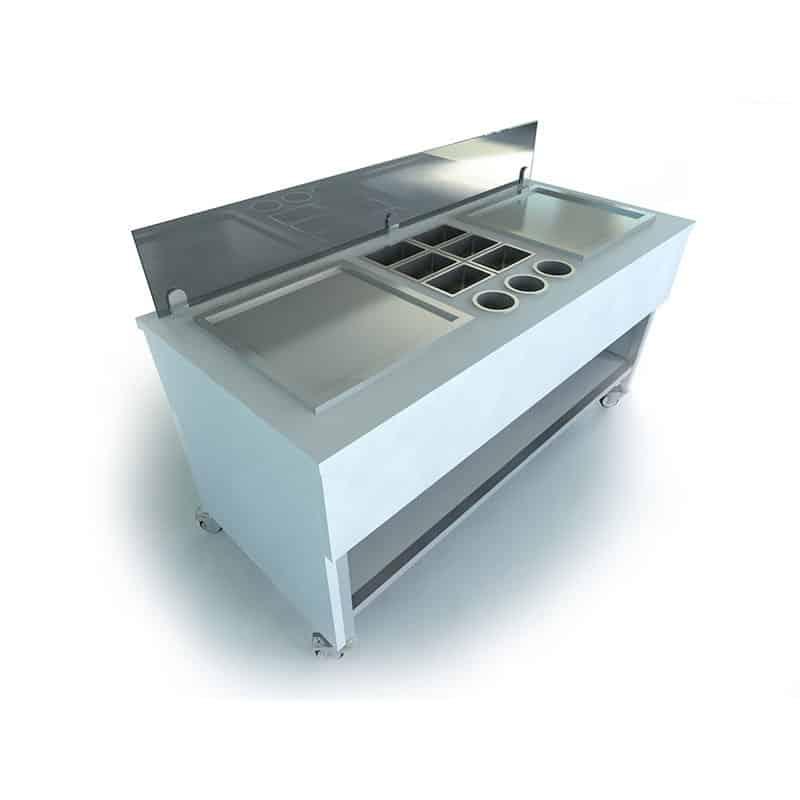 Ice Cream Cart for Ice Pan • Ice Roll Pro • Ice Roll Machine